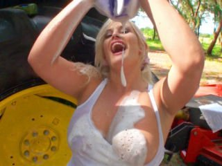 Julie Cash in Big Soapy Tits