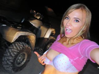 Kaylee Jewel in Naked Hottie's ATV Bang